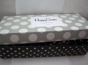 Freude kommt auf, glückliche Socken sind da drin! :)