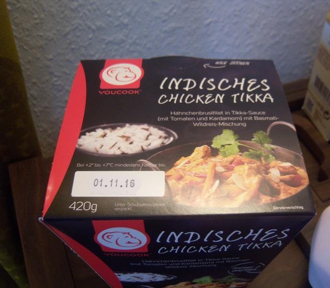 Indisches Chicken Tikka