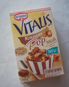 Dr. Oetker Vitalis Knusper Pop Müsli