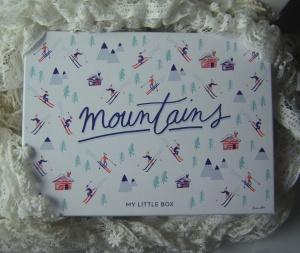 Aus frostiger Höhe schneite diese Box bei mir herein!